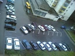 felparkerade